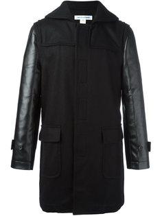 пальто с контрастными рукавами Comme Des Garçons Shirt