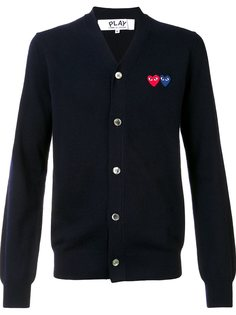 кардиган Double Heart  Comme Des Garçons Play