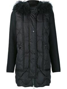 стеганое пальто Theodora Moncler