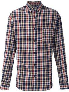 фланелевая рубашка в клетку  The Elder Statesman