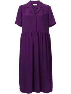 платье-рубашка с V-образным вырезом Carven