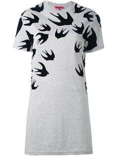 платье-футболка Swallow  McQ Alexander McQueen
