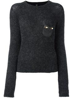 декорированный свитер  Cavalli Class