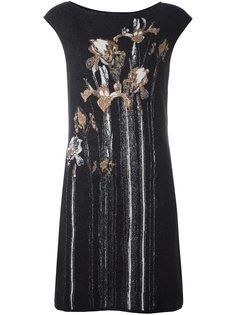 платье с цветочным принтом   Cavalli Class