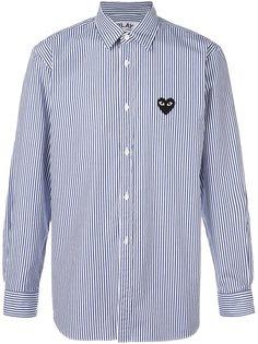 рубашка в полоску Comme Des Garçons Play