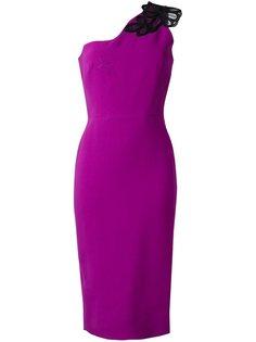 платье длины миди на одно плечо Victoria Beckham