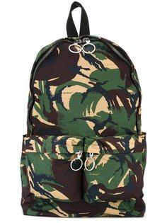 камуфляжный рюкзак на молнии Off-White