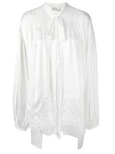 блузка с бантом и кружевом Faith Connexion