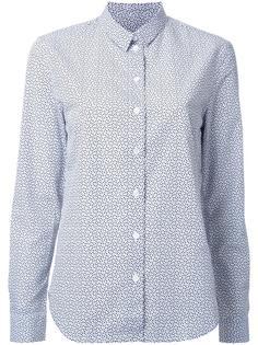 рубашка с узором Maison Kitsuné