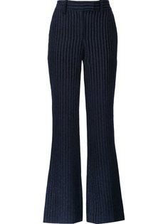 полосатые бархатные брюки  Peter Pilotto