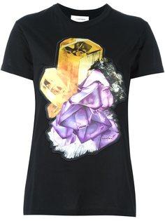 футболка с принтом драгоценных камней  Carven