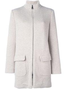 укороченное пальто на молнии Manzoni 24