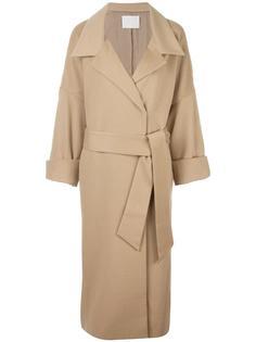 пальто с поясом  Mame