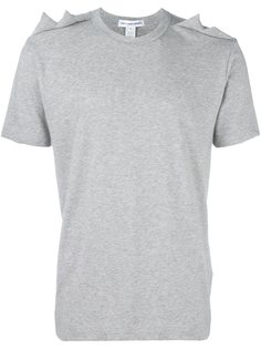 футболка с зубчатыми деталями Comme Des Garçons Shirt