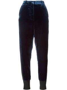 зауженные бархатные брюки 3.1 Phillip Lim