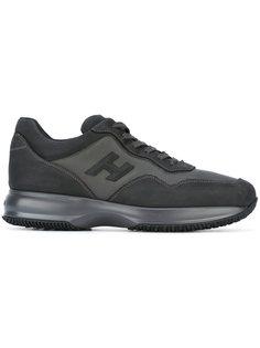 кроссовки с заплаткой с логотипом Hogan