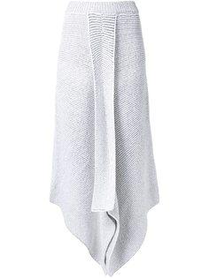 асимметричная трикотажная юбка Stella McCartney
