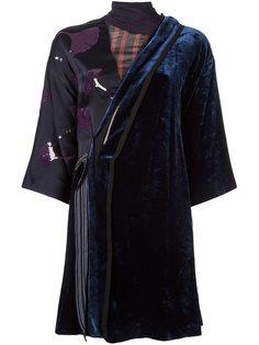 бархатное платье в стиле кимоно 3.1 Phillip Lim