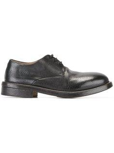 ботинки-дерби из фактурной кожи Marsèll