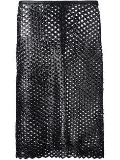 перфорированная юбка  Isabel Marant