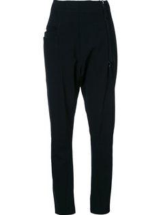 брюки с заниженной шаговой линией  Rundholz