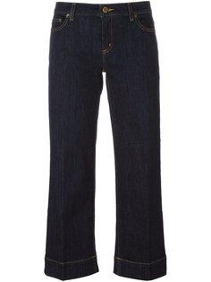прямые укороченные джинсы Michael Michael Kors