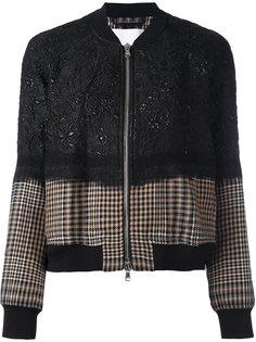 куртка бомбер с цветочным узором 3.1 Phillip Lim