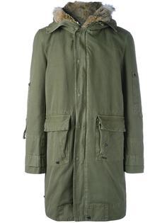 пальто с капюшоном Ermanno Scervino