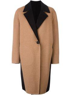 пальто с панельным дизайном  Fausto Puglisi