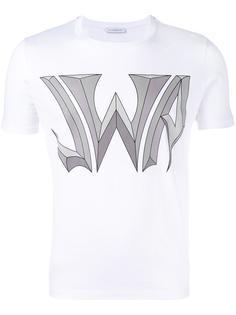 футболка с логотипом JW Anderson