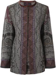 открытое пальто  Etro