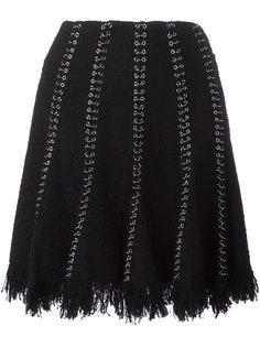 юбка с люверсами и кольцами Alexander Wang