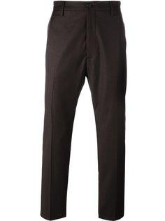 брюки со складками спереди Pence
