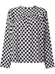 блузка с узором в горох MSGM