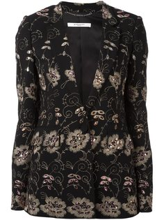 блейзер с вышивкой  Givenchy