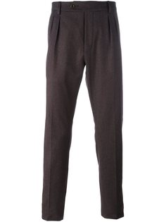 брюки строгого кроя со складками Al Duca D'Aosta 1902
