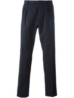 прямые брюки со складками Al Duca D'Aosta 1902