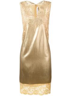 платье шифт с кружевными вставками Stella McCartney