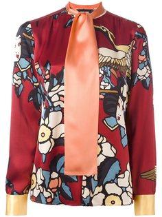 блузка Cherry Blossom  Dsquared2