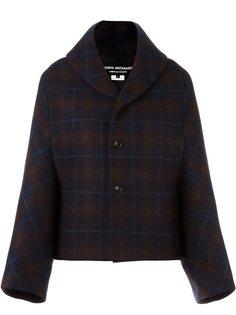 куртка в клетку Junya Watanabe Comme Des Garçons