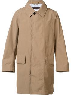 однобортное пальто Visvim