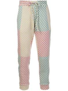 кашемировые брюки на шнурке The Elder Statesman