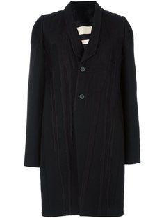 пальто с вышивкой Tusk Rick Owens
