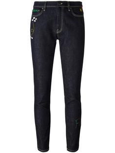 джинсы скинни с вышивкой ракеты Mira Mikati