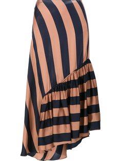 полосатая струящаяся юбка  Stella McCartney