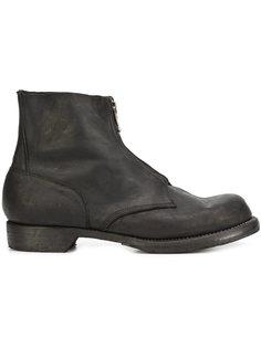 ботинки на молнии в стиле милитари Guidi