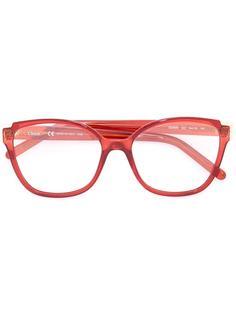 очки в квадратной оправе Chloé Eyewear