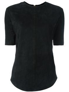 футболка с закругленным подолом Balmain