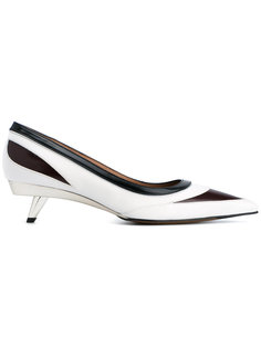 туфли с контрастными панелями Marni