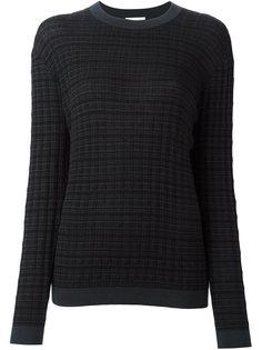 свитер в полоску  DKNY